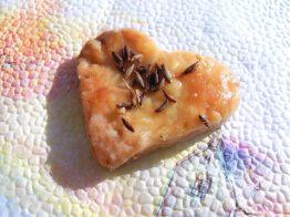 соленки с майонеза - сърце