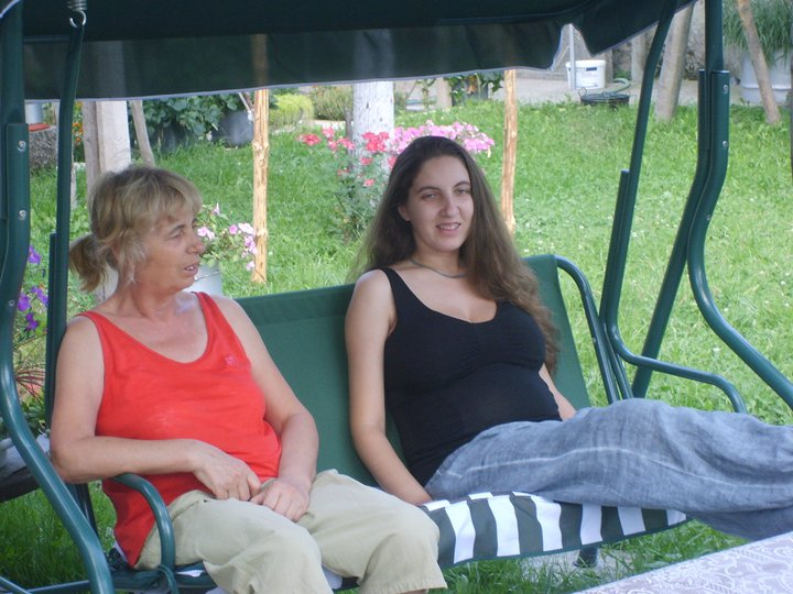 My mother and her daughter Borislava