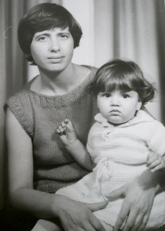 My mother and her daughter Sabina