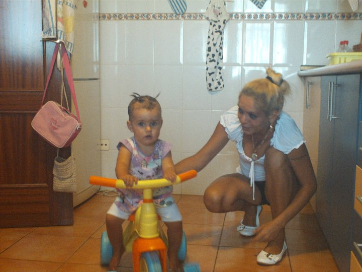 My friend Andrea and her daughter Aihnoa
