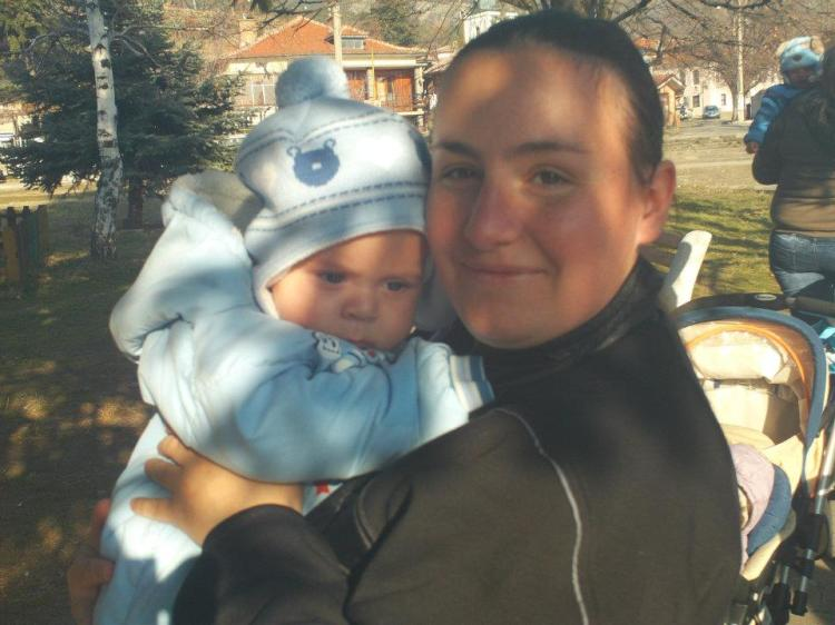 My friend Milena and her son Daniel