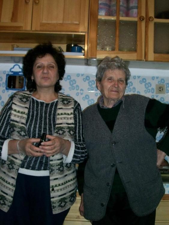 My grandmother and her daughter Ivanka