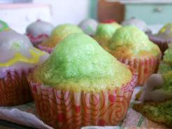 green muffin