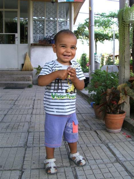 My son in July