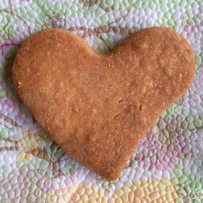 домашни бисквити сърце