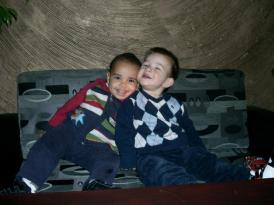 My son and one of his friends