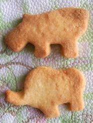 домашни бисквити слон и хипопотам