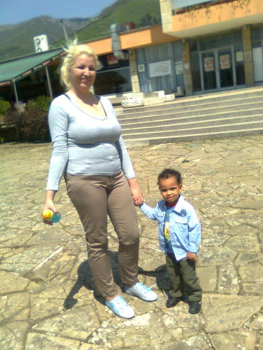 Мама и Симон Мартин