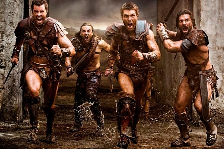 Агрон, Ганик, Спартак и Крикс