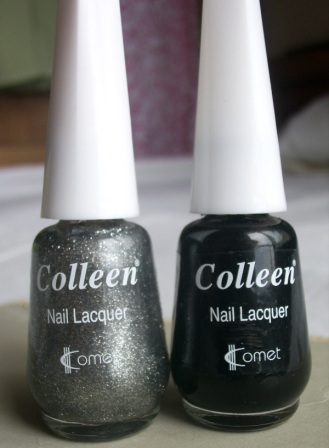 Colleen Nail Lacquer 112 and 106