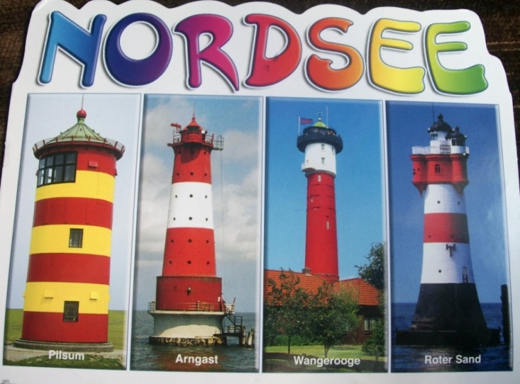 German lighthouses