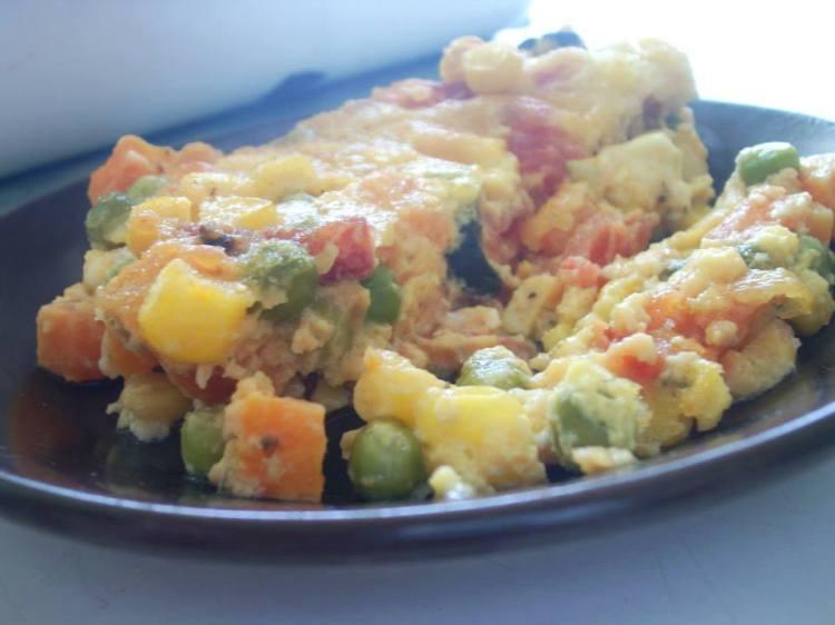 Запеканка с зеленчуци