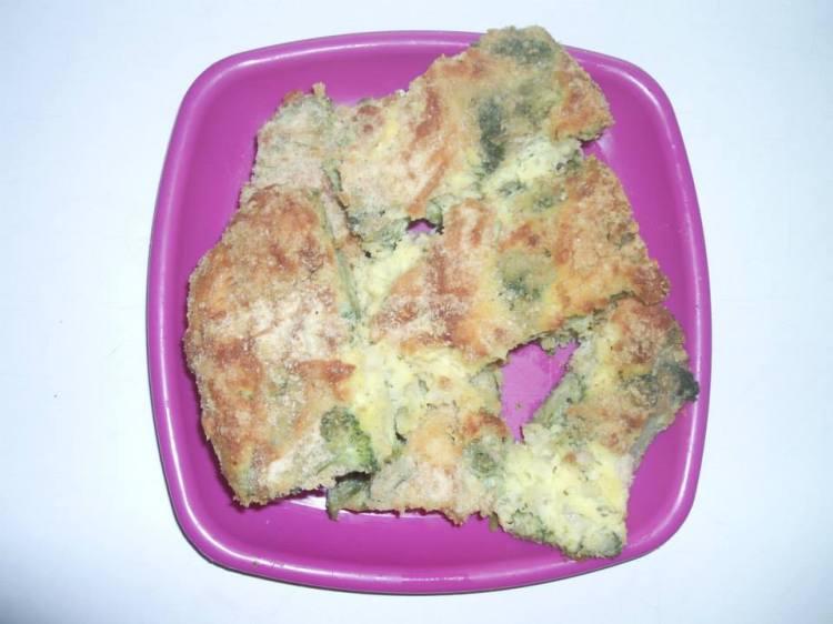 Запеканка с броколи