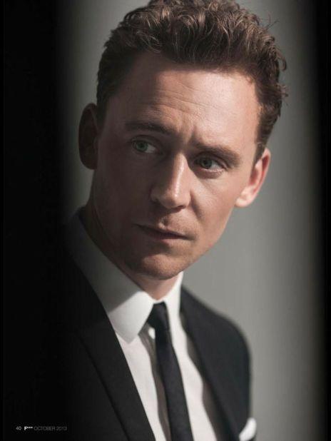 Tom Hiddleston for GQ