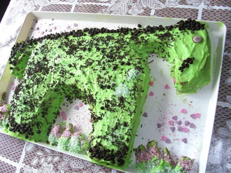 Simon Martin Birthday cake