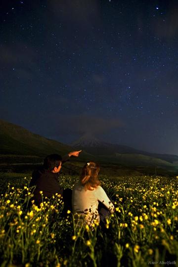 Enjoying the Night Sky By: Amir H. Abolfath