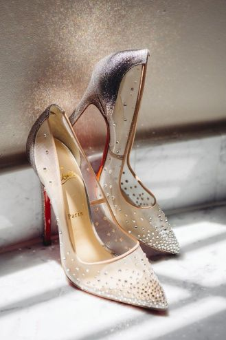 Chrstian Louboutin Bridal Shoes