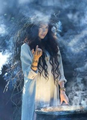 woman white witch