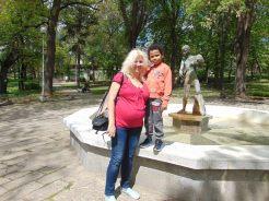 Аз и Симон Мартин в Хисаря